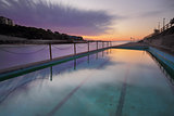 Dawn at Clovelly Pool Sydney