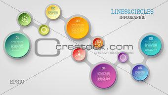 Circle infographic