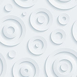 Light gray circles walpaper.