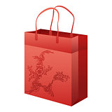 empty paper shopping bag