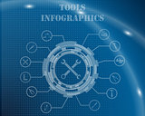 Tools Infographic Template