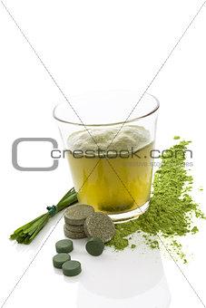 Green juice.