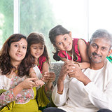 Beautiful Indian family
