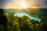 Beautiful river landscape