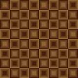 Squares seamless floor pattern brown colors