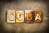Cuba Concept Letterpress Leather Theme