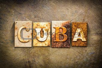 Cuba Concept Letterpress Leather Theme
