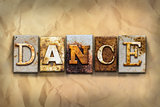 Dance Concept Rusted Metal Type