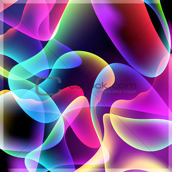 Abstract bright colored background gradients