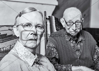 Grumpy Old Woman and Man