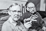 Angry Old Man and Woman