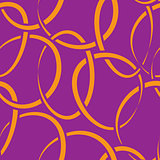 seamless wallpaper with intertwined rings
