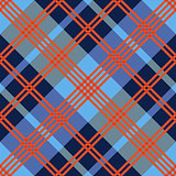Diagonal seamless pattern in red an blue hues