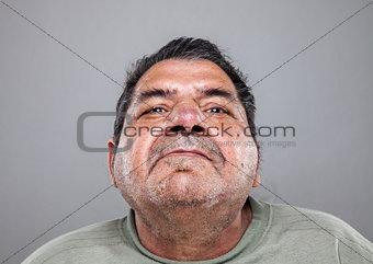 Portrait of an elderly man