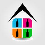 Logo for spirit shop