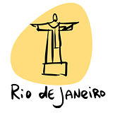 Rio de Janeiro Brazil statue of Christ