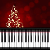 musical christmas template