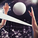 Volleyball match