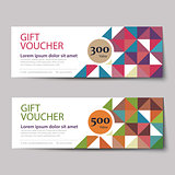 gift voucher discount  template design