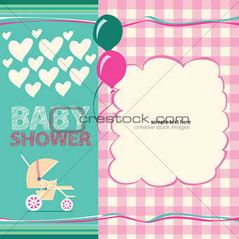 Baby Shower Greeting Card Cute