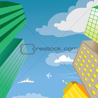 Skyscraper Building Perspective