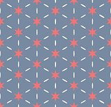 Simply star seamless pattern