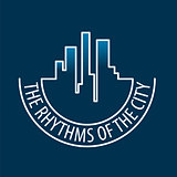 vector logo rhythms of the city at night