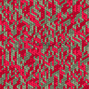 Abstract Background. Mosaic. Vector Illustration.