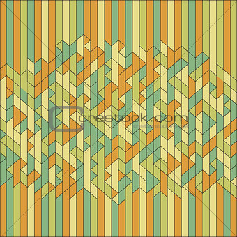 Abstract Geometric Background. Mosaic. Vector Illustration.