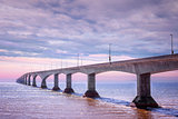 Confederation Bridge sunset, PEI Canada