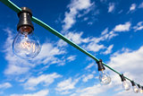 Light Bulbs and Blue Sky