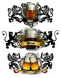 beer mugs decorative