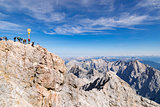 Summit of Zugspitze