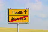 sign desease health