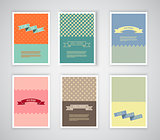Retro design templates