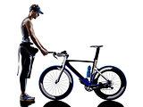 man triathlon ironman athlete equipment