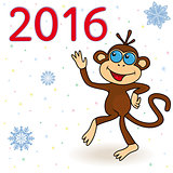 Monkey - the symbol of 2016