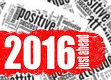 Word cloud 2016 just ahead