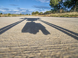 hexacopter drone shadow
