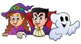 Lurking Halloween characters 1