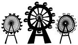 Vector Ferris Wheels