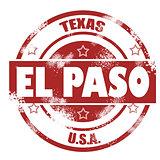 El Paso stamp