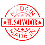 Made in El Salvador red seal