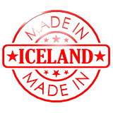 Made in Iceland red seal