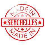 Made in Seychelles red seal