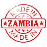 Made in Zambia red seal