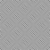 Seamless pattern with hexagonal elements.
