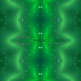 Abstract green seamless pattern background