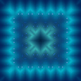 Abstract blue seamless pattern background