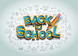 Back to School Background to use for your layouts